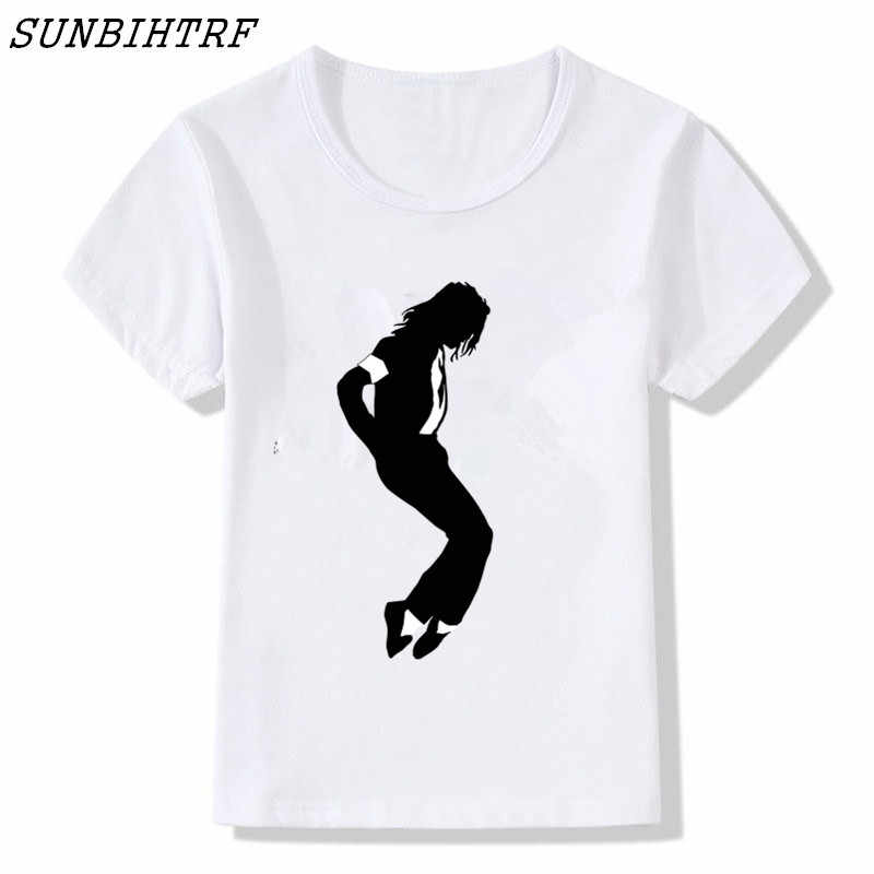 dd022513 Detail Feedback Questions about Boy and Girl Print Produced Michael Jackson  T shirt Children Short Sleeve T shirt Kids Tops Tee Baby Clothes on ...