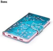 Для huawei honor 6x мода красочные магнитных флип бумажник pu кожа окрашенные телефон case для huawei honor 6x case крышка с карты