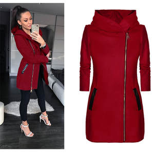 643b330bf2278 SexeMara Winter Jacket 2018 Autumn Women Long Wool