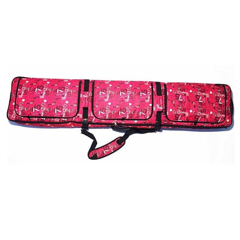 Sacs de ski à roulettes double planche Snowboard paquet épaule ski sac à dos vérifié sacs de ski - 3