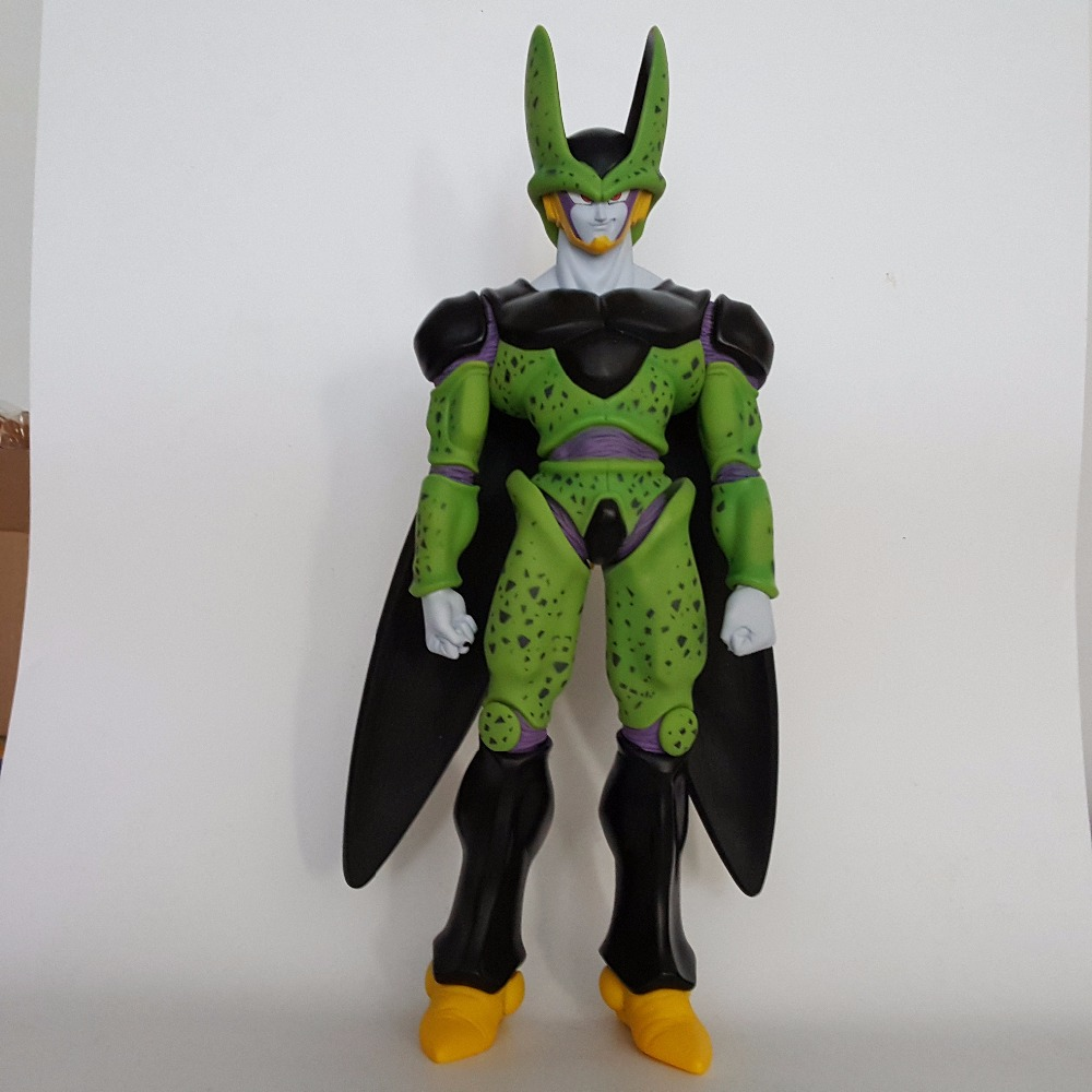 Dragon Ball Z Cell Action Figures 480mm PVC Model Toy Anime Dragon Ball Super Perfect Cell Huge Size anime dragon ball super saiyan 3 son gokou pvc action figure collectible model toy 18cm kt2841