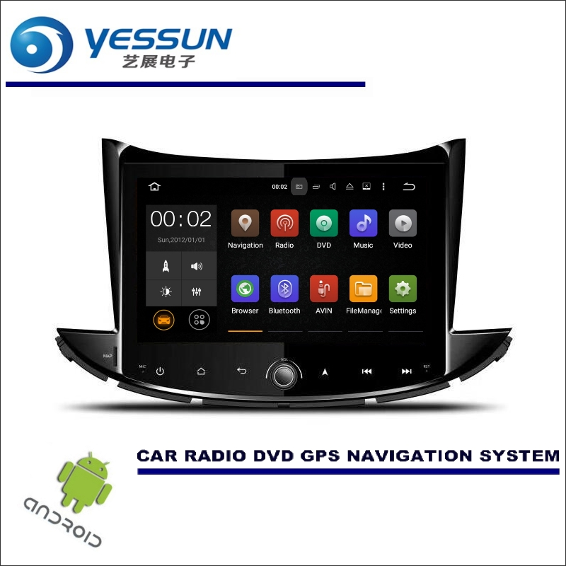 YESSUN Car Multimedia Navigation For Chevrolet Trax 2017 Android GPS Player Navi Radio Audio Video Stereo Screen no CD DVD for chevrolet silverado for gmc sierra car android multimedia radio cd dvd player gps navi map navigation audio video stereo