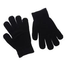 1 Pair 2017 Fashion Children Kids Magic Glove Mitten Girl Boy Kid Stretchy Knitted Winter Warm