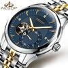 AESOP Blue Men Watch Men Automatic Mechanical Sapphire Crystal Wrist Wristwatch Male Clock Relogio Masculino Hodinky