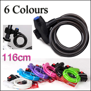 Anti Theft Black White Green Pink purple moto Bike Lock Steel Wire Safe Carbon Bicycle Lock MTB Mountain Road motorcycle Lock Theft Protection Automobiles & Motorcycles -