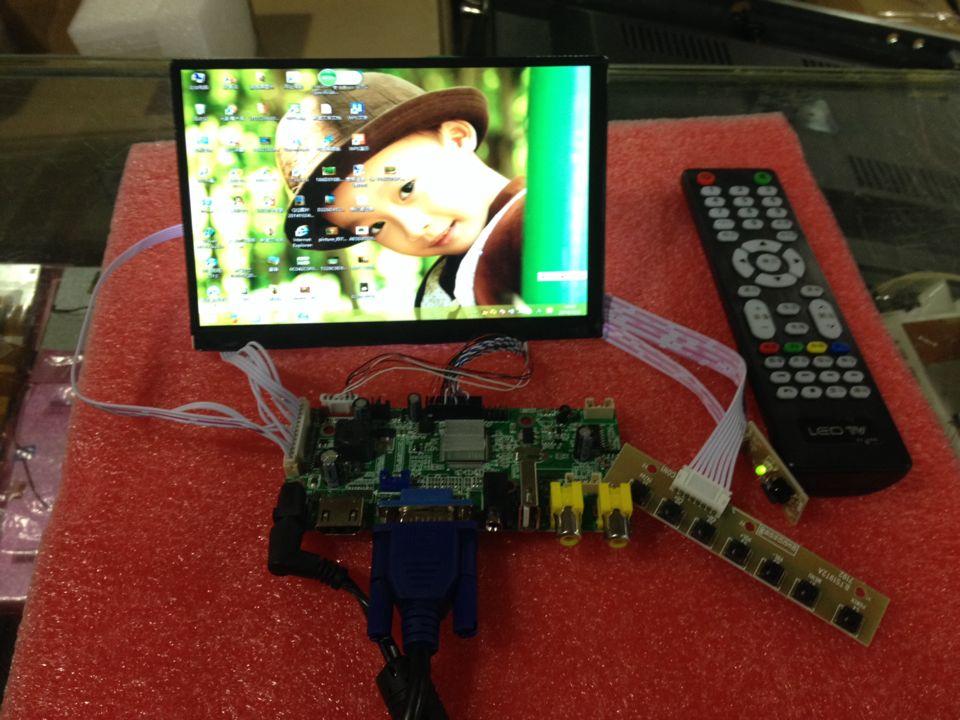 7 inch N070ICG LD1 CMO V59.AV driver board, a 288 yuan reverse projection оригинальный подарок love wan ko cmo 61