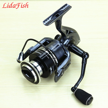 2017 new fishing pulley SK2000-7000 metal wire cup without gap fish reel CNC rocker carretilha