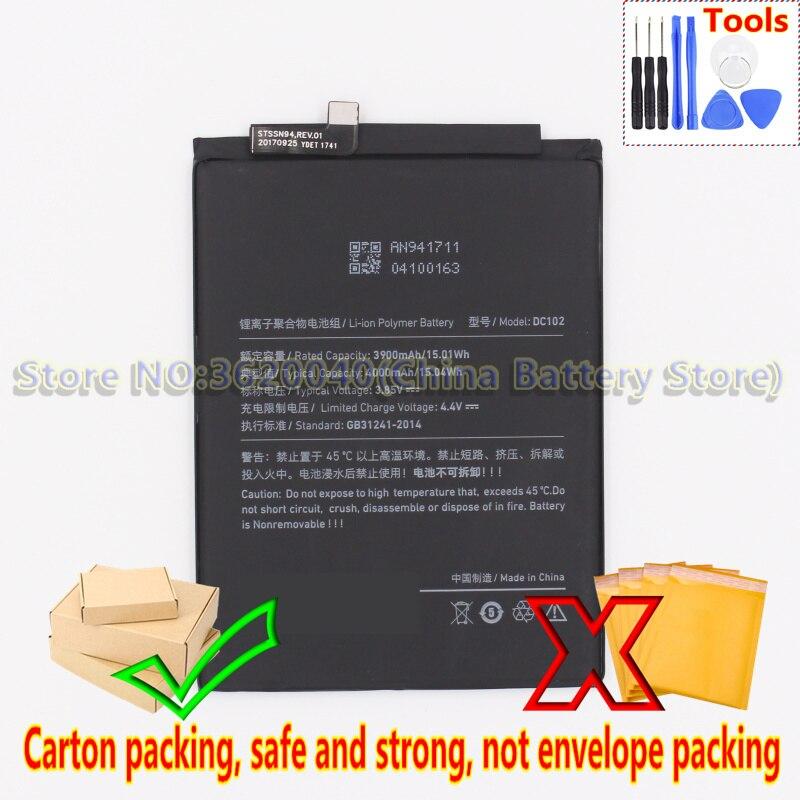 GND 4000 мАч/15.04Wh DC102 сменная батарея для смартфона Smartisan U3 OC105 встроенный литий-ионный аккумулятор литий-полимерная батарея