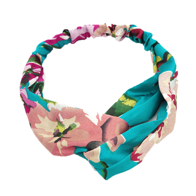 Kawaii Elastic Floral Hairband