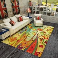 Creative H Pastoral Style Modern Soft Carpet For Living Room Bedroom Kid Play Delicate Rug Home Floor Fashion Study Room Mat