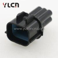 Alta calidad New Super sellado impermeable alambre eléctrico 5 Sets 6 pin auto conector PLUG