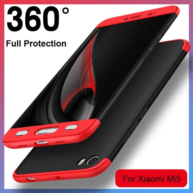 Vpower Phone Case for xiaomi mi5 Case xiaomi mi5 cover Plastic, 3 in 1 Full-Body Protect Case mi 5 Phone Shell