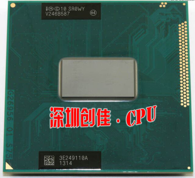 Original intel Core i5 3230M 2.6GHz 3M SR0WY Dual Four threads i5-3230m Notebook processors Laptop CPU PGA 988 pin Socket G2 процессор для пк intel i5 2450m sr0ch 2 5g 3m pga