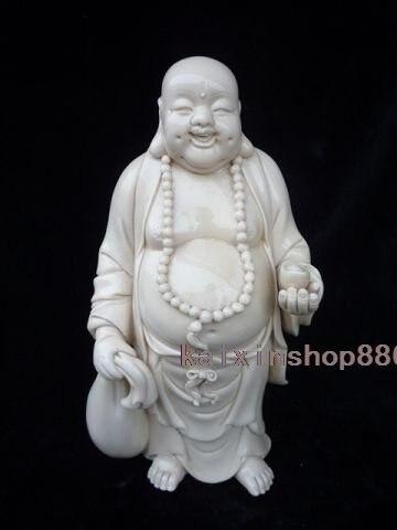 Blanc De La Cina Dehua Porcellana Statua Di BuddhaBlanc De La Cina Dehua Porcellana Statua Di Buddha