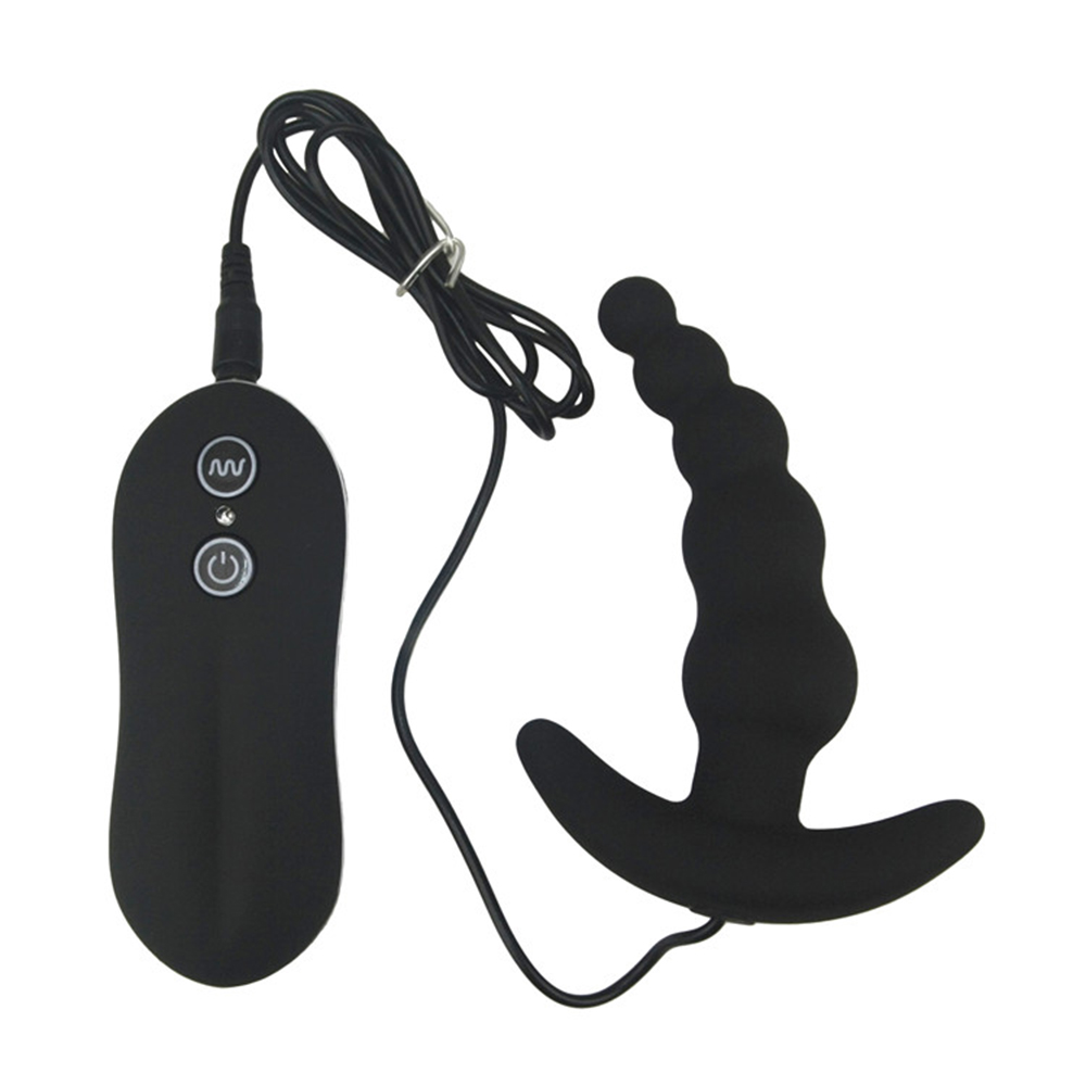 Vibrating Anal Plug Waterproof Black 10 Mode Silicone Anal Sex Toy For men anal  vibrator Butt Plug erotic sex product for women-in Anal Sex Toys from  Beauty ...