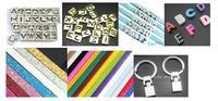 Orden de compra-1055 unids 8mm letras de la diapositiva, 980 unids 8mm encantos de la diapositiva, 70 unids cinturón, 200 unids 8mm llaveros