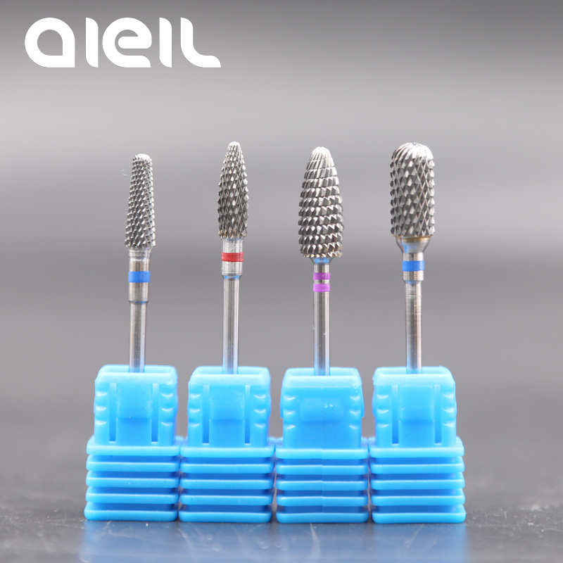 Image 5 - Tungsten Carbide Nail Drill Bits Milling Cutters For Manicure Nail Drill Bits Manicure Cutters For Nails Manicure Machine Cutter-in Electric Manicure Drills from Beauty & Health