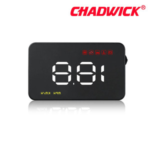 "Image 4 - Simple Number show HUD Digital Car Speedometer Auto 3.5"" Head Up Display Windshield Projector Auto Power on/off CHADWICK A1000"