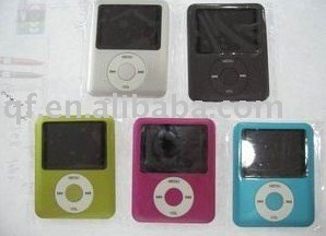 wholesale and retail free shipping New Arrival 4GB MP4 player , fashion high quality mp4 player
