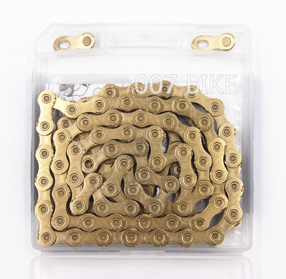 KMC X12 gold 12 speed chain