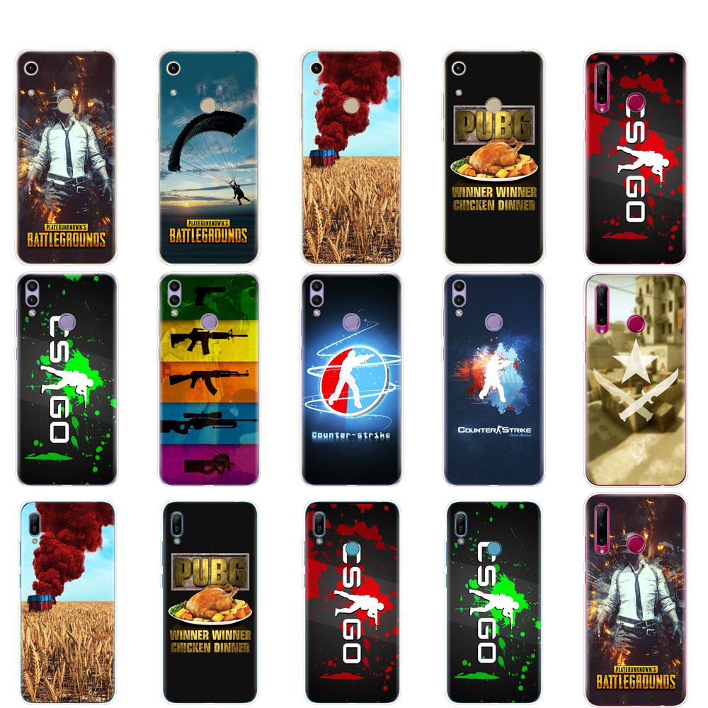<font><b>Case</b></font> For <font><b>Huawei</b></font> Honor 8A PRO 8C 8X 10 i play <font><b>case</b></font> back cover for <font><b>huawei</b></font> Y5 Y6 Y7 <font><b>Y9</b></font> <font><b>2019</b></font> pro Prime Counter Strike CS GO and PUBG image
