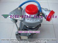 CT20 17201 54060 Turbo Turbocharger For TOYOTA HI ACE 1995 98 HI LUX 1997 98 LANDCRUISER 90 96 Surf 4 Runner 2.4L 2L T 2LT 90HP