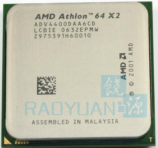 SOCKET 939 2.2 GHz ADV4400DAA6CD 2MB 89W USA SELLER AMD Athlon 64 X2 4400