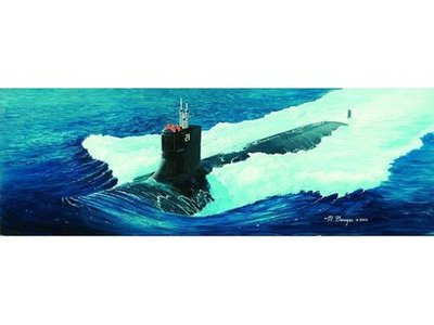TRUMPETER 05904 1:144 USA Seawolf Class Attack Submarine Model