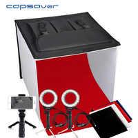 capsaver K40II Foldable Light Box Mini photography Photo Studio Lightbox Photo Box 3200K-9000K CRI85 40cm Shooting Tent Soft Box