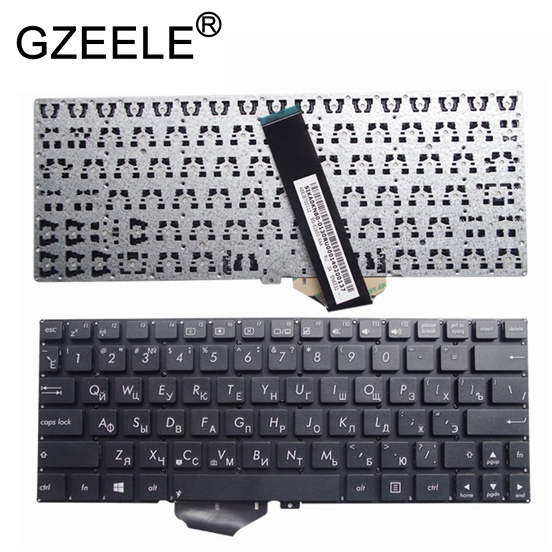 GZEELE NEW For ASUS X102BA X102 X102B RU Russian Keyboard Black Without Frame