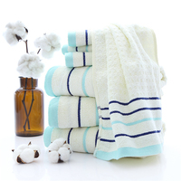 2018 Bamboo fiber bath towel adult children's family bath towel