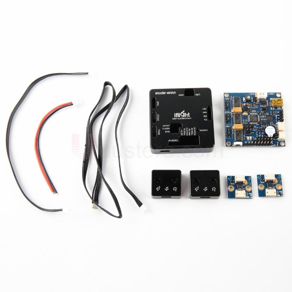 Alexmos BaseCam SimpleBGC Brushless Controlador Gimbal com Encoder 32Bit 32-bit 3-eixos de estabilização