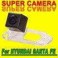 Para sony ccd hyundai santa fe coche de visión trasera inversa cámara del estacionamiento del coche imagen clara de buena calidad