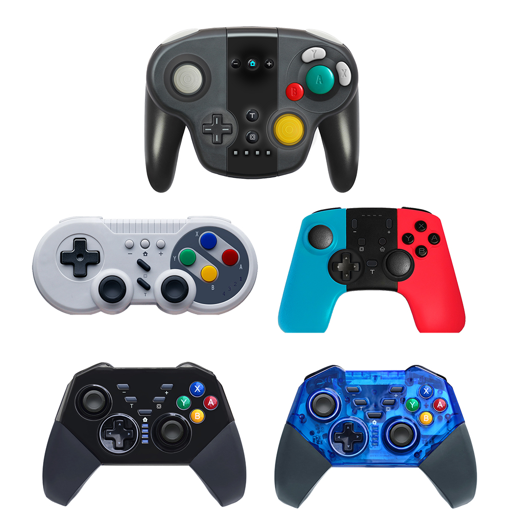 VIGRAND Bluetooth Wireless Pro Controller Gamepad For Switch Joypad Remote For Nintend Switch Console Gamepads Joystick For PC