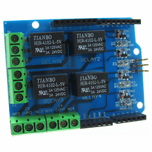 4 Channel Equipment Shield Electrical Outlet Multifunction Circuit Control Board Stable Relay Module Supplies Useful For Arduino