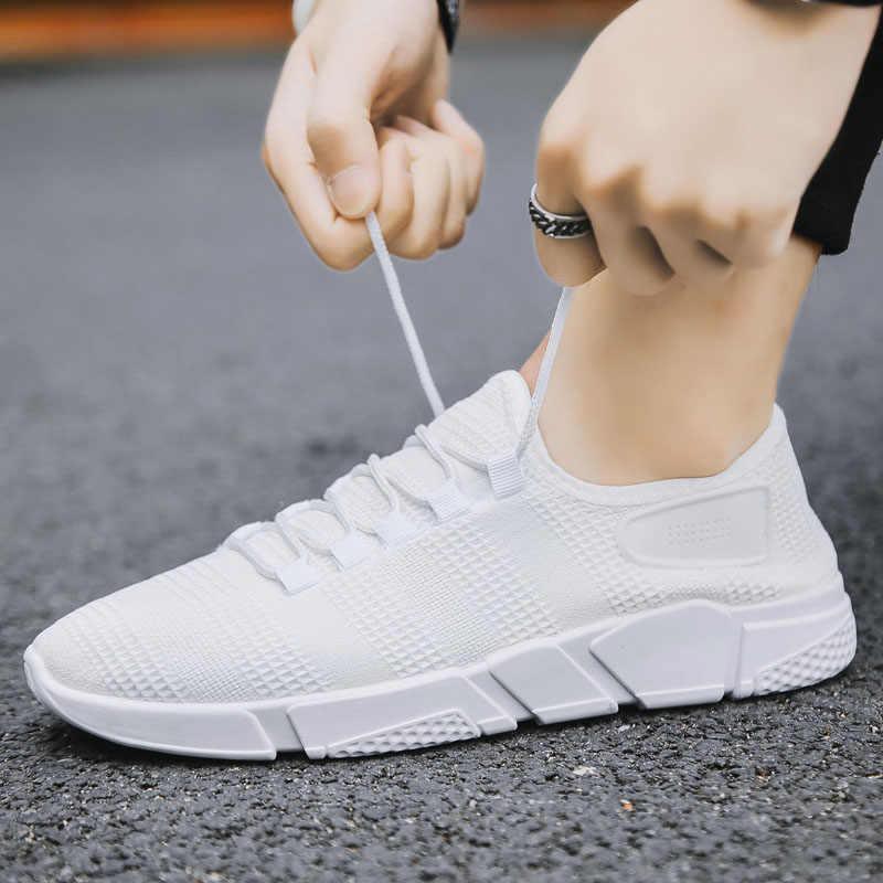รองเท้าผู้ชายรองเท้าแฟชั่น Cushioning สามมิติลื่นกีฬารองเท้าผู้ชายสบายสบายขี้เกียจผู้ชายรองเท้าสบายๆ