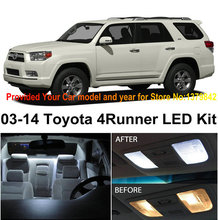 1 Xenon White Premium Package Kit LED Interior Lights For Toyota 4Runner 2003-2014