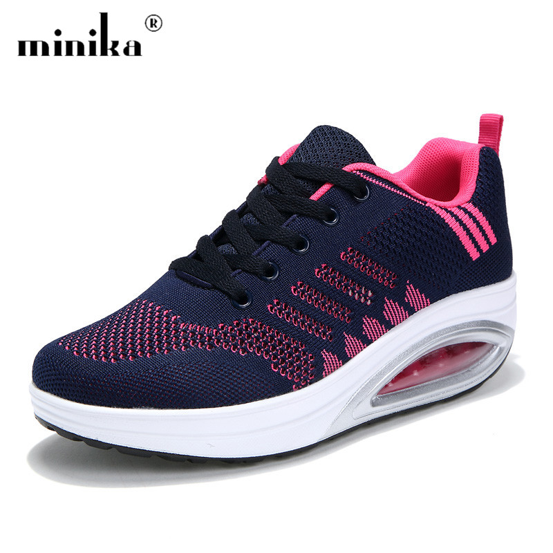 Brand Platform Sneakers Women Casual Shoes Woman 2018 Fashion Creepers Ladies Shoes Trainers Tenis Feminino plus size 42 Сникеры