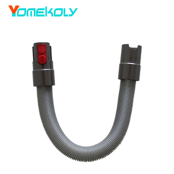 цена на for Dyson V7 V8 V10 Vacuum Cleaner High Quality PU Extended Telescopic Extension Hose Replacement Spare Parts free shipping