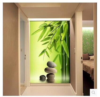 Grandes Murales Couloir D Entree Pour Restaurant Murale Papier