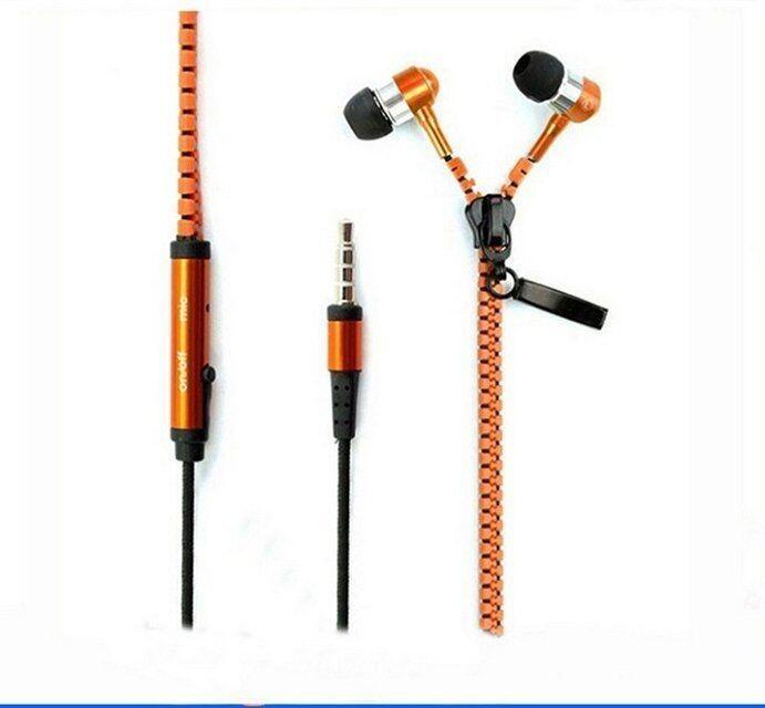 zipper earphone F