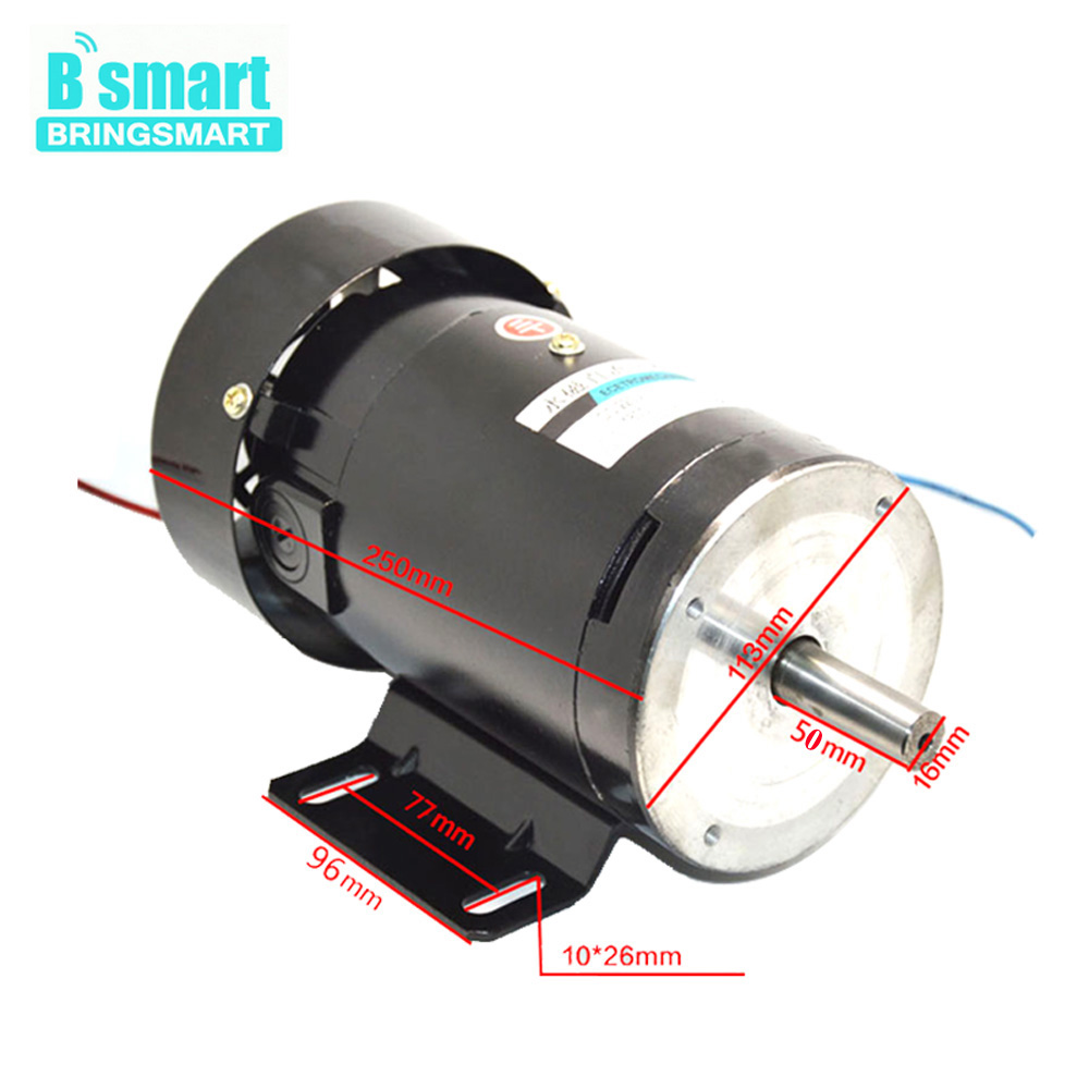 zyt22 dc 220 v permanent magnet motor high speed 1800 rpm 500 watt