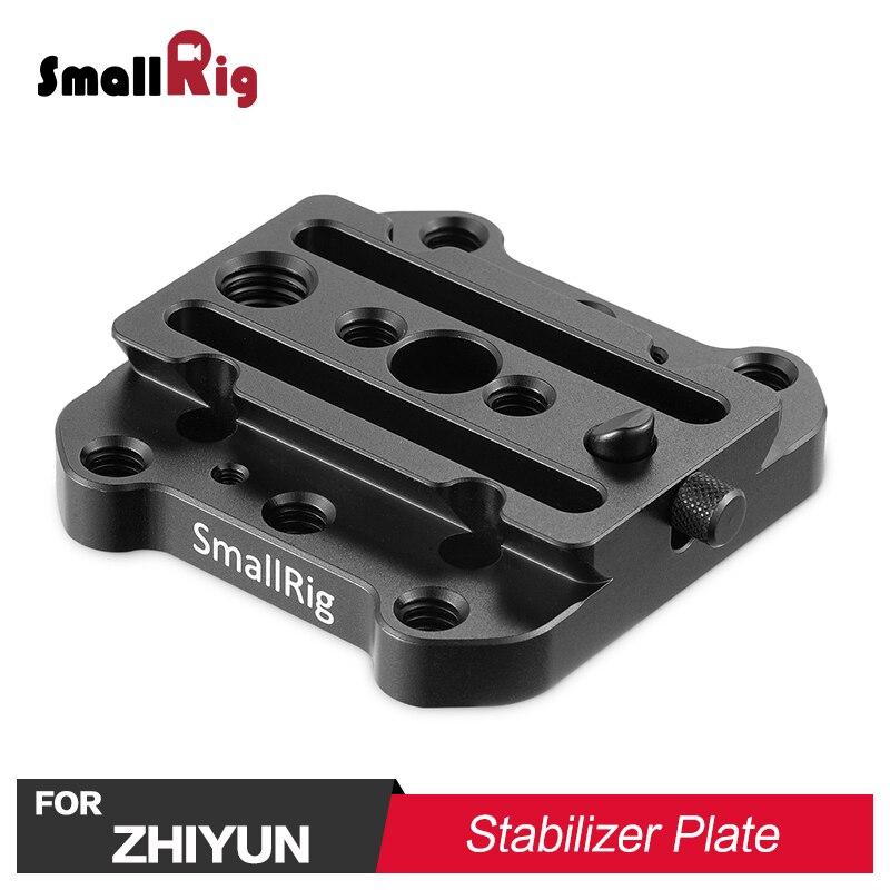 SmallRig QR Quick Release Mounting Plate for Freefly Movi & for Zhiyun Gimbal Stabilizer for Zhiyun Crane V2, Crane2, Crane Plus цена и фото