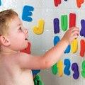 Hot!! crianças & Children & Brinquedos Do Banho Do Bebê água brinquedos Clássicos brinquedos Educativos 36 pçs/set (26 Letras + 10 Números) 11-254