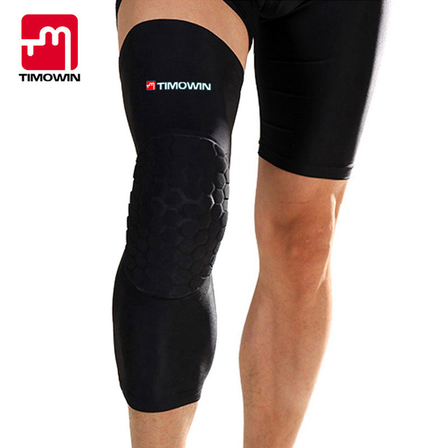 fdc0215ec7 Basketball Sports Safety Knee Support Football Volleyball kneepad long  Breathable roller skating popular brands knee warm pad