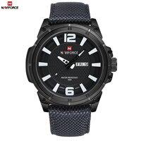 NAVIFORCE Watches Men Military Sports Quartz Watches Luxury Brand Fashion Casual Auto Date Week 3ATM Waterproof