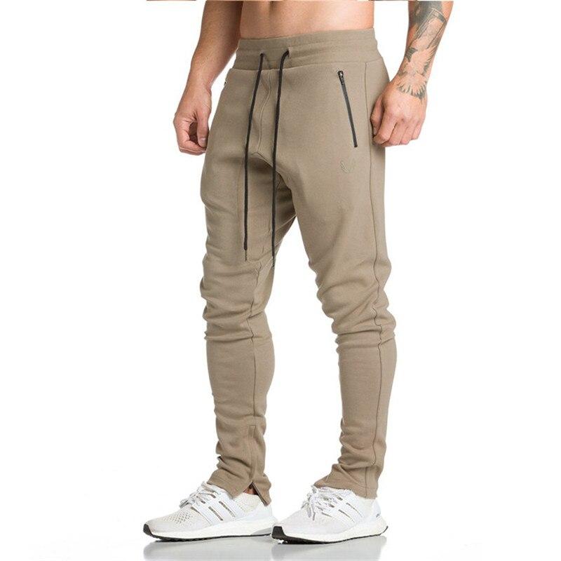 SUMMER Pants Men Jogger Sweatpants Elastic Belt Tether Pants Gyms joggering Trousers DropShipping