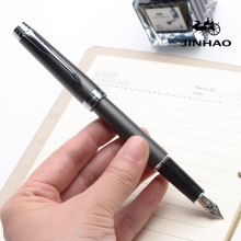 Luxury Jinhao Fountain Pen Matte Medium Ink Pens High Quality Dolma Kalem School Office Name Gift Stationery
