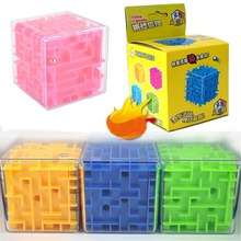 Puzzle Cube Building-Blocks Labyrinth Game Block-Toys Maze Magical-Rolling Kids Model