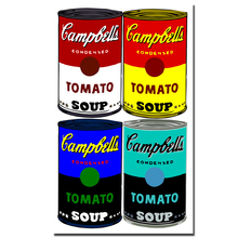 2017 envío gratis lienzo para vivir moderno Andy Warhol Campbell s Soup  decoración del hogar pintura moderna impresa al óleo 3b029407a798